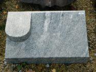 20233 Liegestein Wiskont Weiss Form P5 60x35x20-10cm