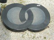 20252 Liegestein Indisch Black Form P23 55x35x14-7cm