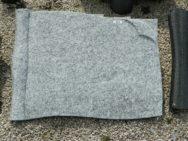 20269 Liegestein Wiskont Weiss Form SCHR11 60x45x6cm
