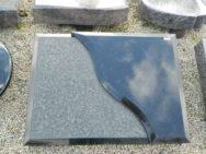 20299 Liegestein Indisch Black 80x60x14-12cm