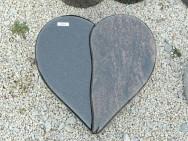 20319 Liegestein Indisch Black Kastania Form H5 40x40x12-10cm
