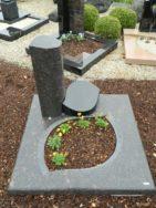 90028 Urnengrab Tan Brown Indisch Black Form UR 136 15 Außenmaß 100x100cm