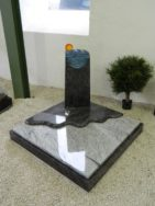 90066 Urnengrab Orion Wiskont Weiss Form UR 152 16 Außenmaß 100x100cm