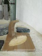 90077 Urnengrab Wonder Wood Form UR 73 12 Außenmaß 100x100cm