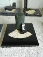 90085 Urnengrab Verde Victoria Indisch Black Form UR 157 16 Außenmaß 100x100cm