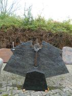 0038 Oberteil Indisch Black Form 1333 125x14x70cm 48x32-32 X18-35cm
