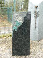 0049 Oberteil Diabas Ohne Form 35x20x85cm