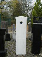 0085 Oberteil Marmor Form 1443 35-45x14x130cm
