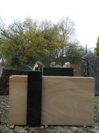 0111 Oberteil Wonder Wood - Indisch Black Ohne Form 36x14x72cm 87x14x72 20x20x81cm