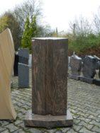 0119 Oberteil Samoka Black Form 1421 50x18x110cm 65x8x35cm