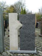 0122 Oberteil Gohara Limestone Orion Form 49-12 40x14x110cm 45x14x105cm