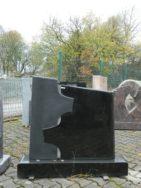 0132 Oberteil Indisch Black Form 1451 90x14x85cm 110x20x14cm
