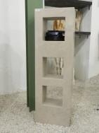 0379 Oberteil Gohara Limestone Form 33 12 35x18x110cm
