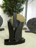 0423 Oberteil Indisch Black Steel Grey Form JK 48 14 20x14x70cm 35x14x70cm 70x23x14cm