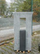 0453 Oberteil Sky Blue Indisch Black Form 1235 55x14x100cm 15x20x55cm