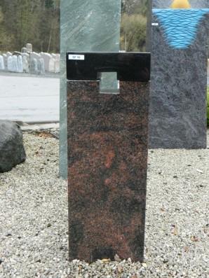 SF 0010 Oberteil Kastania Indisch Black Form SF 2010 37 22x12x68cm