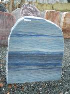AM 112 Felsen Azul Quarzit Macauba Poliert Gesprengt 60x70x10cm
