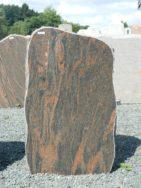 H 171 Felsen Halmstad Poliert Bossiert 56x15x92cm