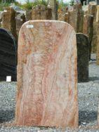 OQ 107 Felsen Odenwald Quarzit Poliert Bossiert 50x14x80cm
