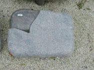 L 425 Liegestein Himalaya Geflammt Poliert Form LF 40 2 60x45x12cm