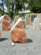 AB 009 Felsen Arragon Braun Poliert 48x35x72cm