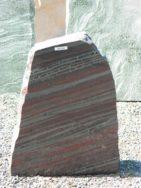 DIV 225 Felsen Timor Rot Poliert Gesägt 42x16x55cm