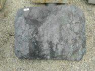 L 127 Liegestein Prasino Spaltrau Bossiert 57x44x18cm