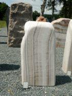 OX 011 Felsen Onyx Poliert 41x17x78cm