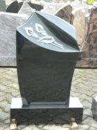 0574 Oberteil Indisch Black Poliert Matt Form 10 17 A Ornament 50 X 14 X 75cm 60 X 20 X 14cm