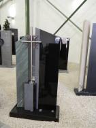 0577 Oberteil Indisch Black Dorfer Gruen Poliert Gebuerstet Form AB 16 01 28 X 14 X 100cm 14 X 14 X 35cm 60 X 25 X 6cm 15 X 14 X 92cm