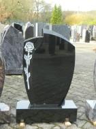 0493 Oberteil Indisch Black Poliert Matt Form 13 17 A 50x14x75cm 60x20x14cm