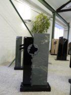 0521 Oberteil Indisch Black Dorfer Gruen Poliert Gebuerstet Form 20 17 31x14x105cm 35x14x115cm 65x25x8cm