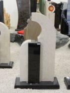 0531 Oberteil Indisch Black Gohara Limestone Poliert Form AB 16 12 16x14x62cm 34x14x100cm 16x18x62cm 60x25x6cm