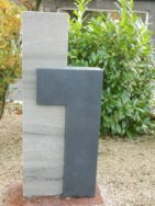 0553 Oberteil Indisch Black Cabernet Poliert Matt Form 1268 25x14x110cm 37x14x80cm