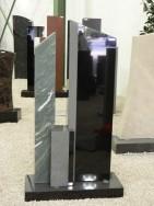 0571 Oberteil Indish Black Dorfer Gruen Poliert Gesandstrahlt Gebuerstet Form AB 16 01 15x12x92cm 28x12x100cm 14x12x35cm 60x25x6cm