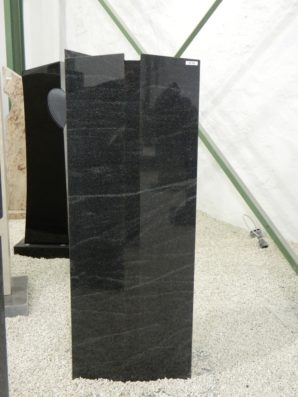 SF 54 Oberteil Virginia Black Poliert Form SF 2016.04 45x14x120cm
