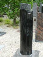 0636 Oberteil Indisch Black Form 1505 25x15x90cm