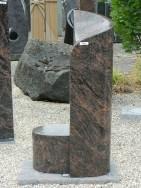 0640 Oberteil Kastania Form 1384 21x18x80cm 21x18x20cm