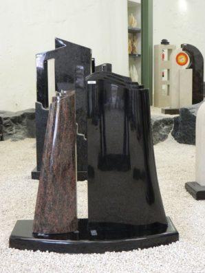 0655 Oberteil Kastania Indisch Black Form JK UR 33 17 23x12x70cm 42x12x80cm 85x35x6cm
