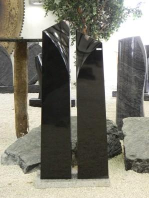 0658 Oberteil Indisch Black Form 1302 25x15x130cm 25x15x120cm