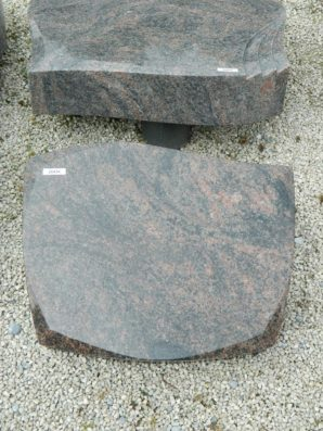 20434 Liegestein Kastania L45 50x40x12cm