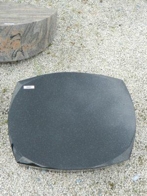 20457 Liegestein Indisch Black L47 50x40x12cm