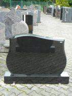 0619 Oberteil Indisch Black Form 272 110x14x75cm 120x20x14cm