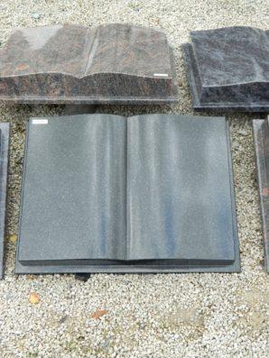 10217 Buch Indish Black Form C 60x45x10cm