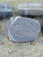20518 Liegestein Kastania Form L123 60x45x12cm