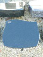 20522 Liegestein Indisch Black Form 126 50x40x6cm
