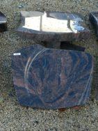 20526 Liegestein Kastania Form P127 50x40x6cm