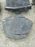 20530 Liegestein Kastania Form P105 50x40x6cm