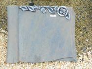 20578 Liegestein Azul Macaubas Form SCHR13R 50x40x6cm