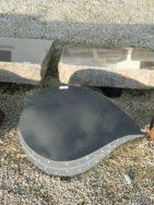 20596 Liegestein Indisch Black Form P30 60x43x18 6cm
